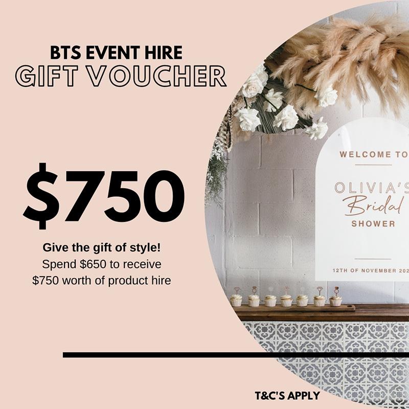 $750 Gift Voucher