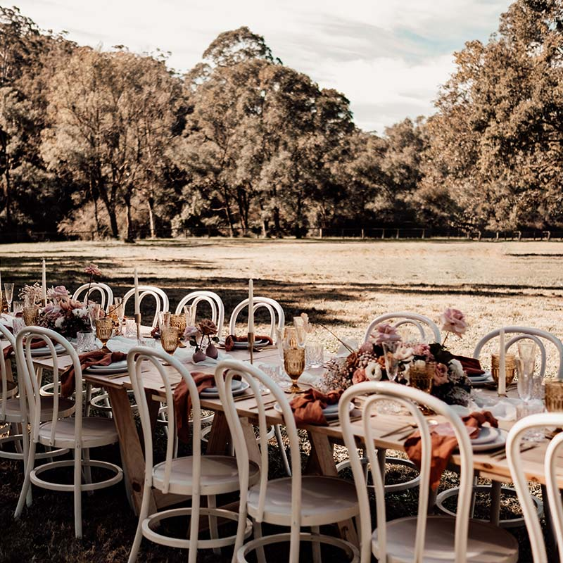 Cypress Feasting Tables