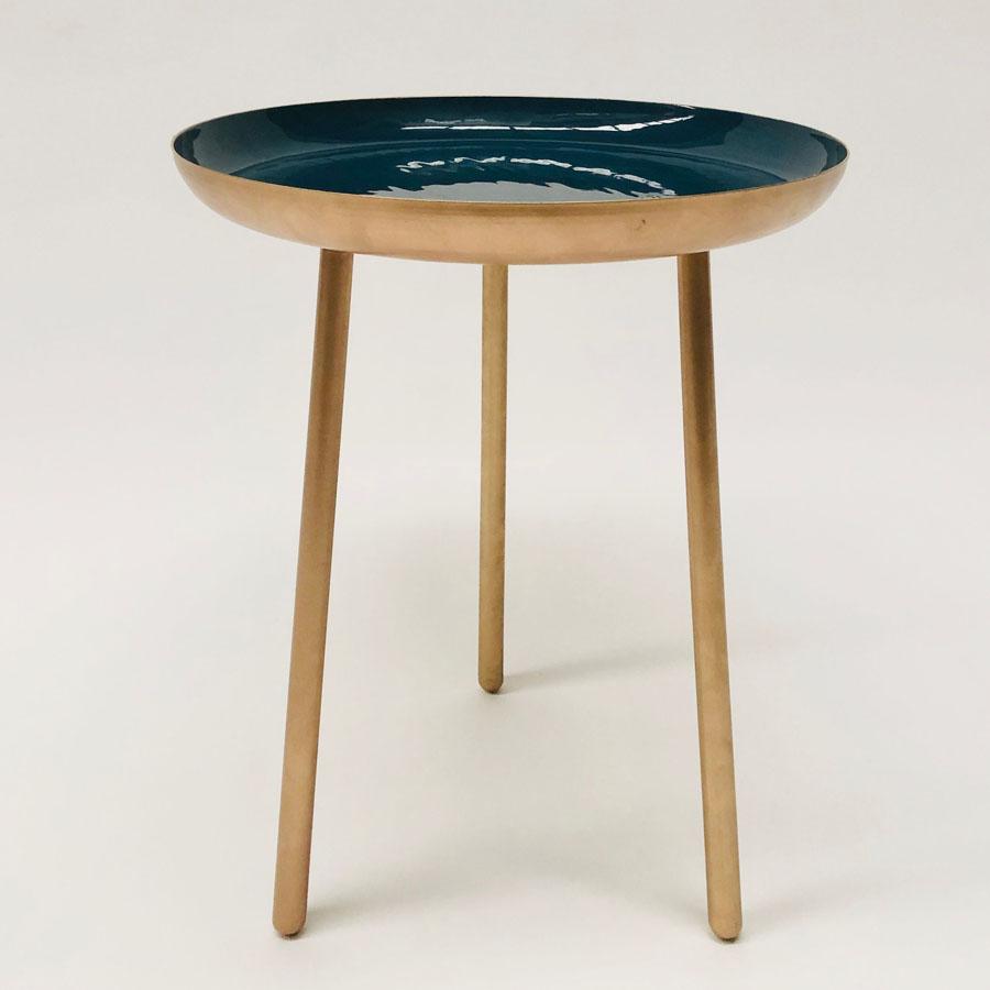 Moonshine Side Table Blue