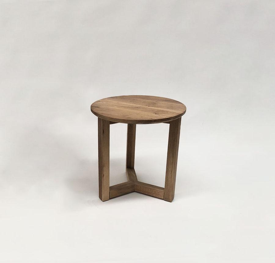 Natural Oak Side Table