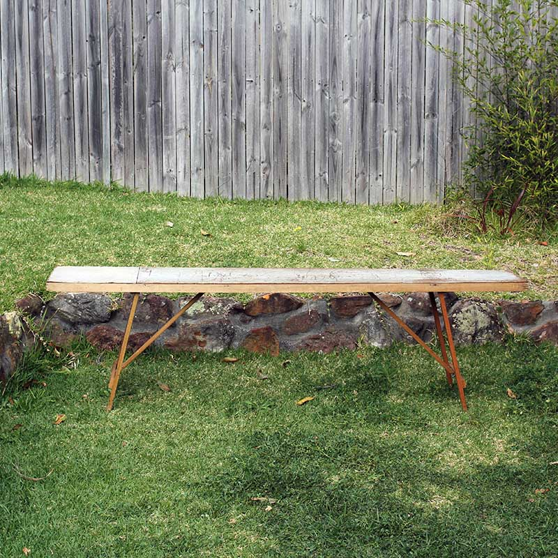 ... Vintage Trestle Table