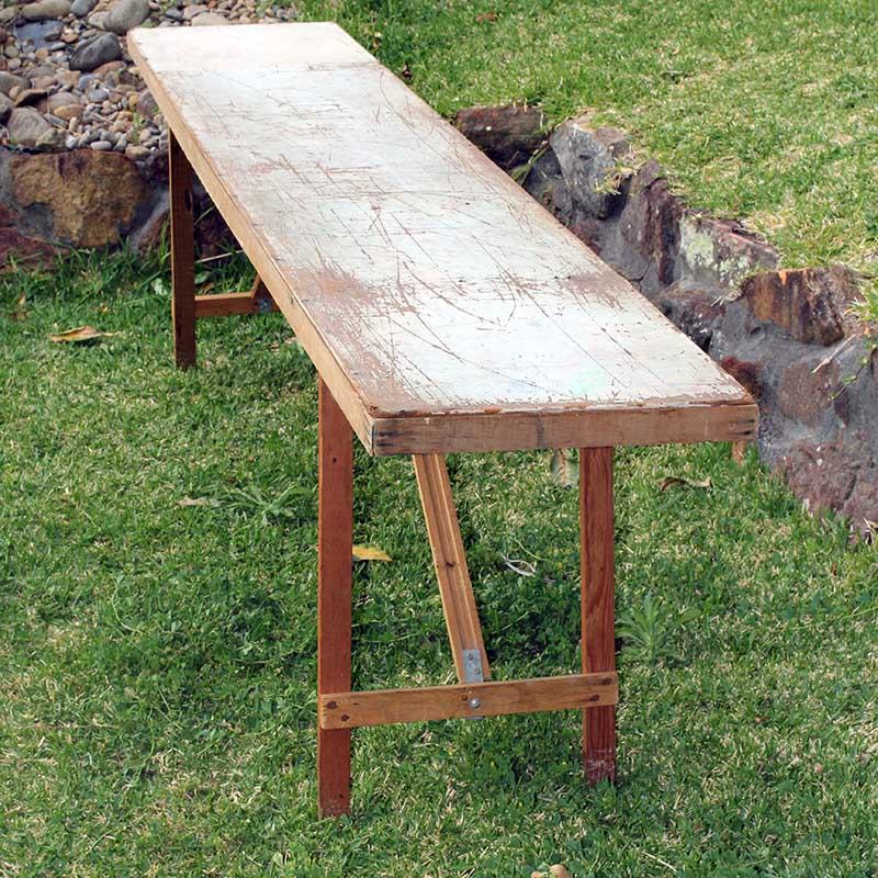 Charming Vintage Trestle Table Part 30