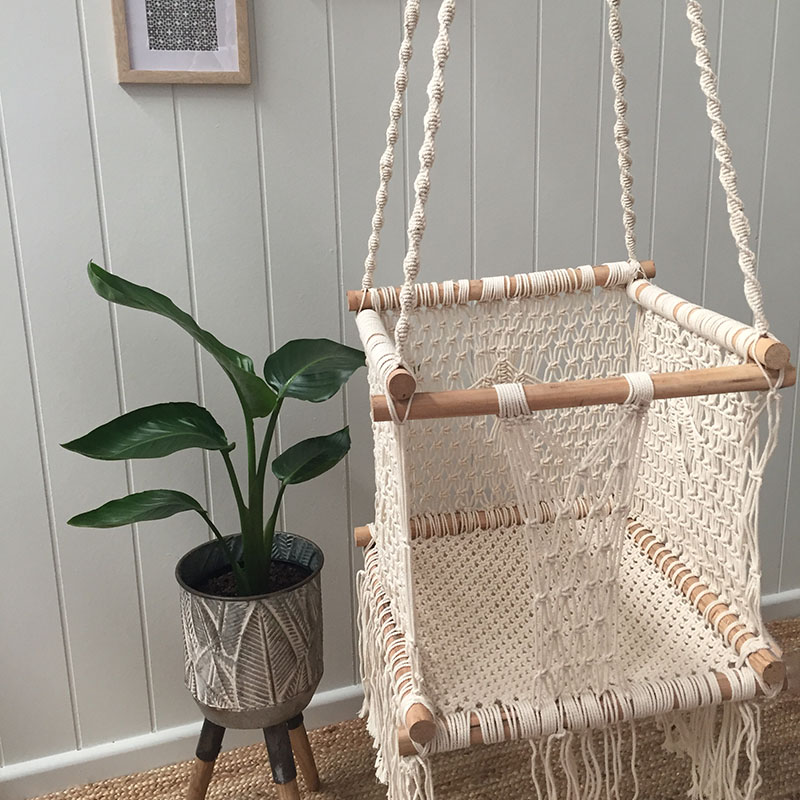 Macrame Baby / Toddler Swing